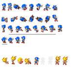 Classic Sonic sprites