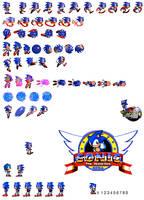 Sonic CD 2 sprites by dinojack9000