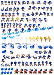 Massive Sonic Custom Sheet by dinojack9000