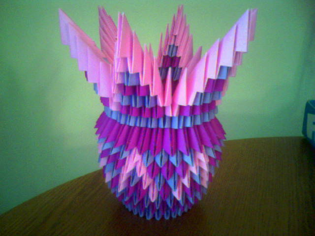 3D Origami Vase By Indystdnt