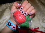 Valentine's Nails 2 by Celeste707