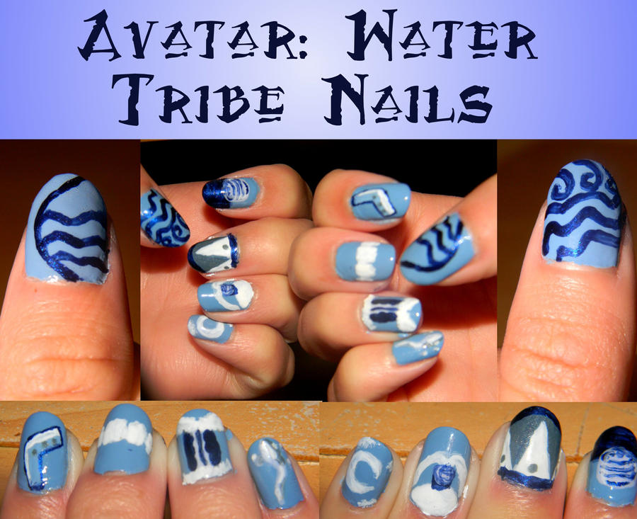 Avatar Water Tribe Nails By Celeste707 On Deviantart
