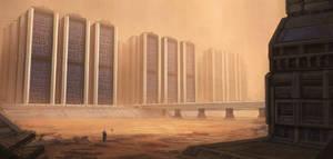 Sci-fi ruins