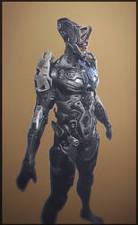 Robot concept 2 by WiredHuman