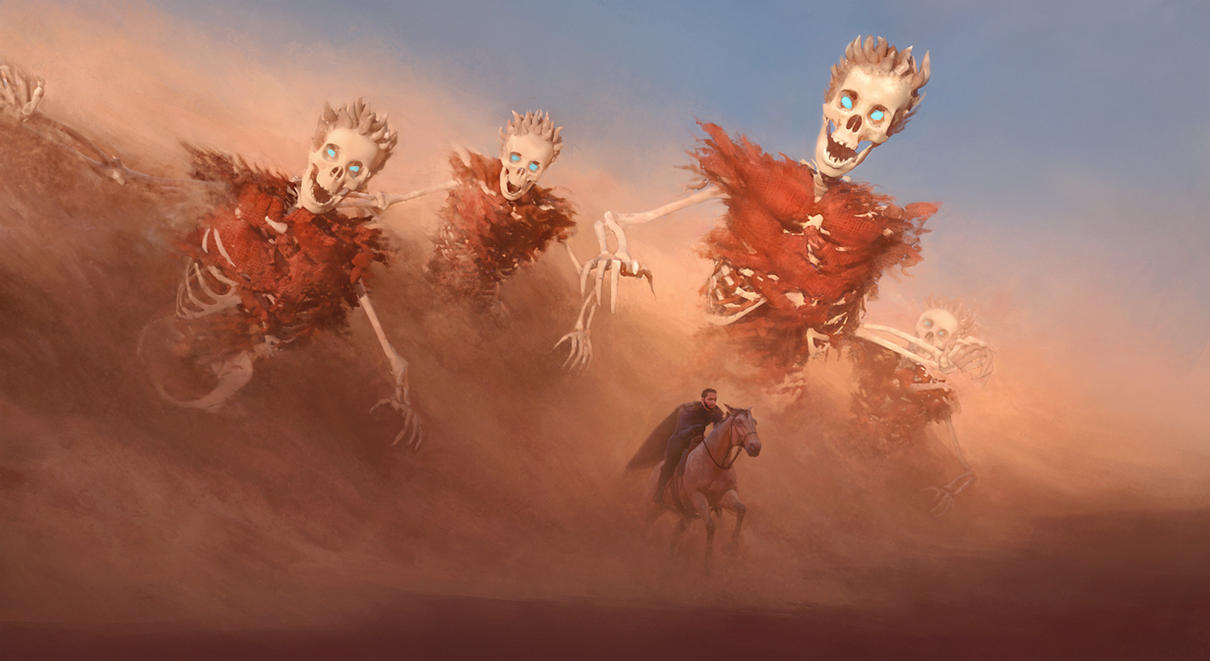 Skeletons by WiredHuman