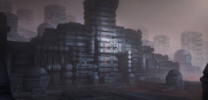 Sci-fi base