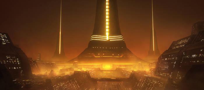 Sci-fi city 3