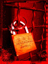 padlock of lovers by CKdailyplanet