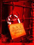 padlock of lovers by CKdailyplanet