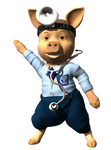 Dr Pig 09 122412 by CKdailyplanet