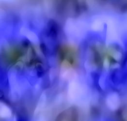Golden Apple Blue ii by CKdailyplanet