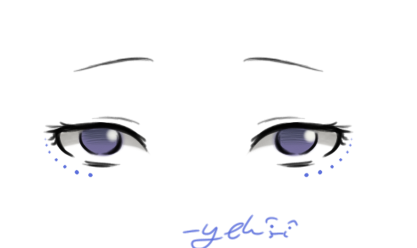 Tired Anime Eyes by Howaboutno240 on DeviantArt