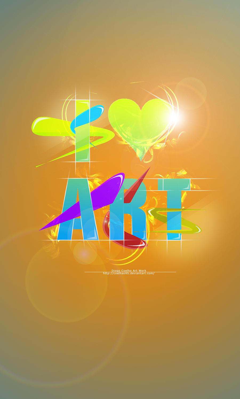 I Love Art by Coelhao95