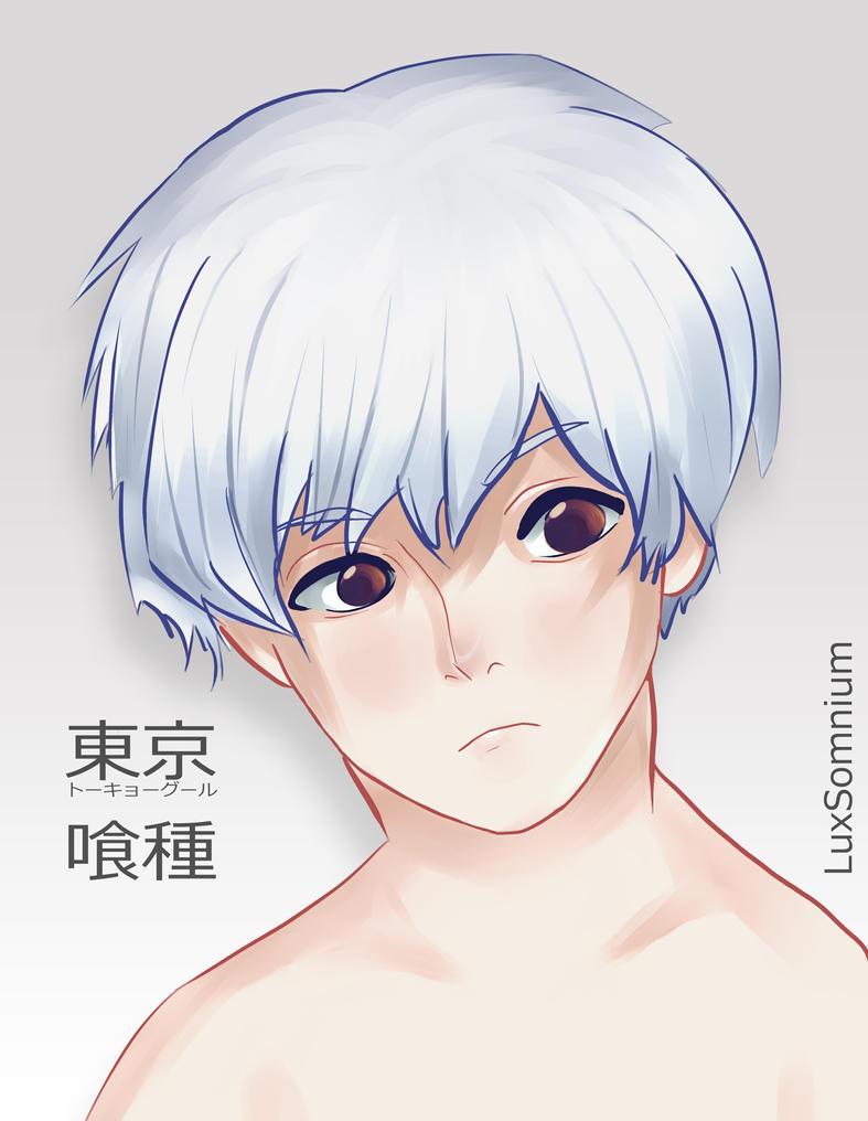 Kaneki Ken by LuxSomnium