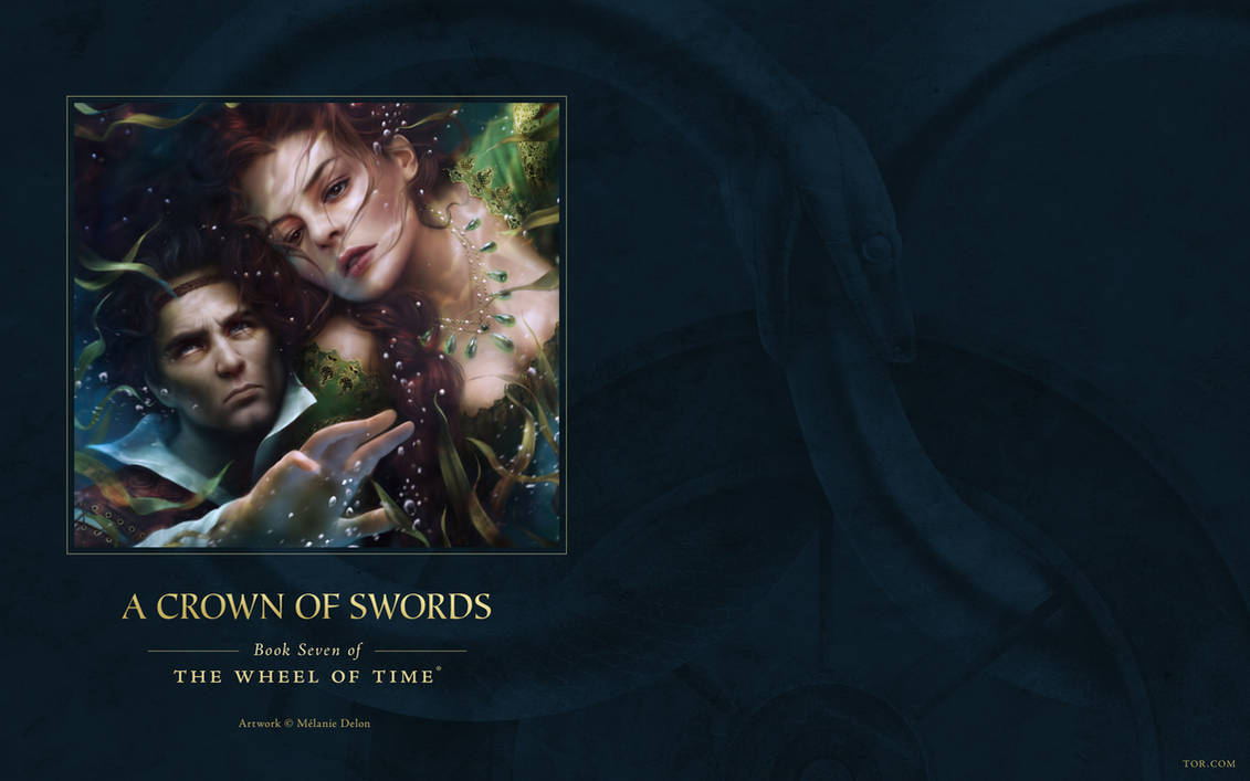 A Crown Of Swords Ebook Cover Art Wallpaper By Arcanghell On