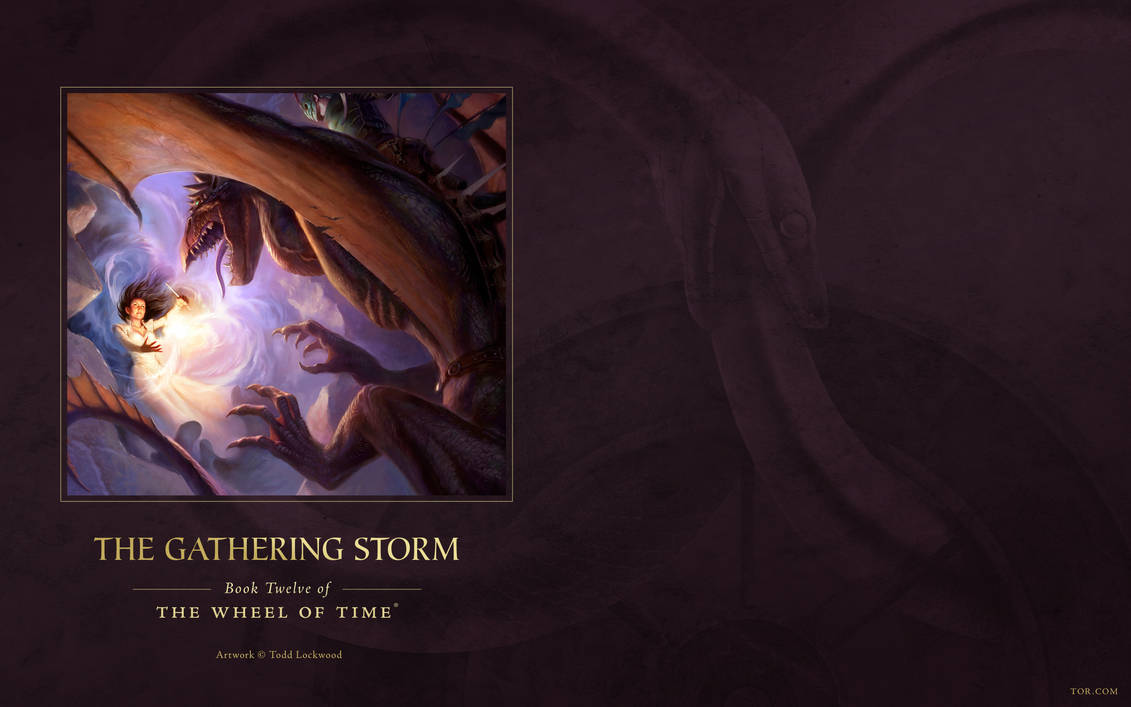 The Gathering Storm Ebook Cover Art Wallpaper By Arcanghell On