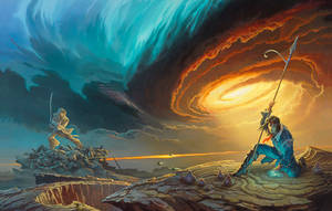 'Words of Radiance' book cover art by ArcangHell