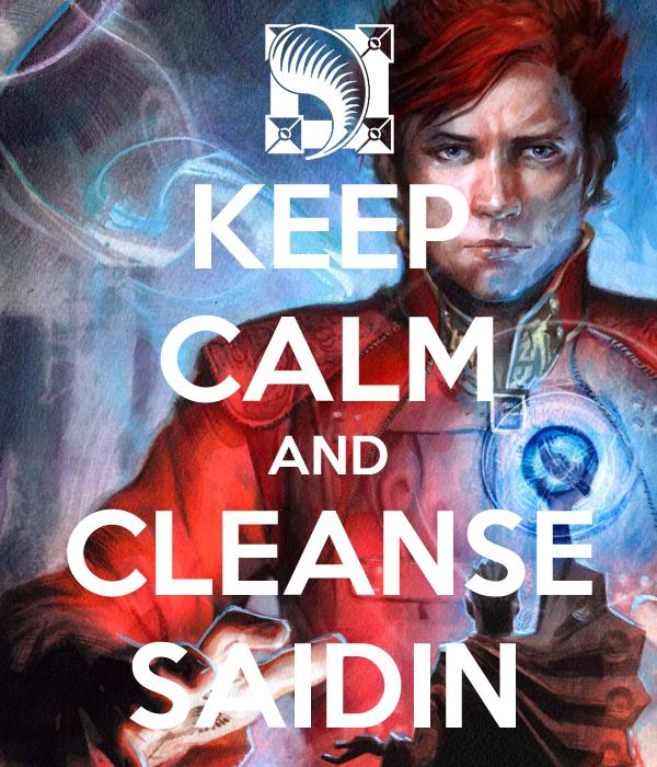 Keep calm and cleanse saidin - Rand al'Thor #1 by ArcangHell