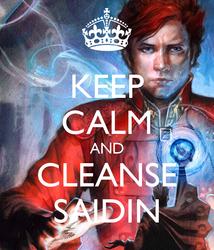 Keep calm and cleanse saidin - Rand al'Thor #2