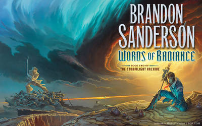 'Words of Radiance' cover art wallpaper