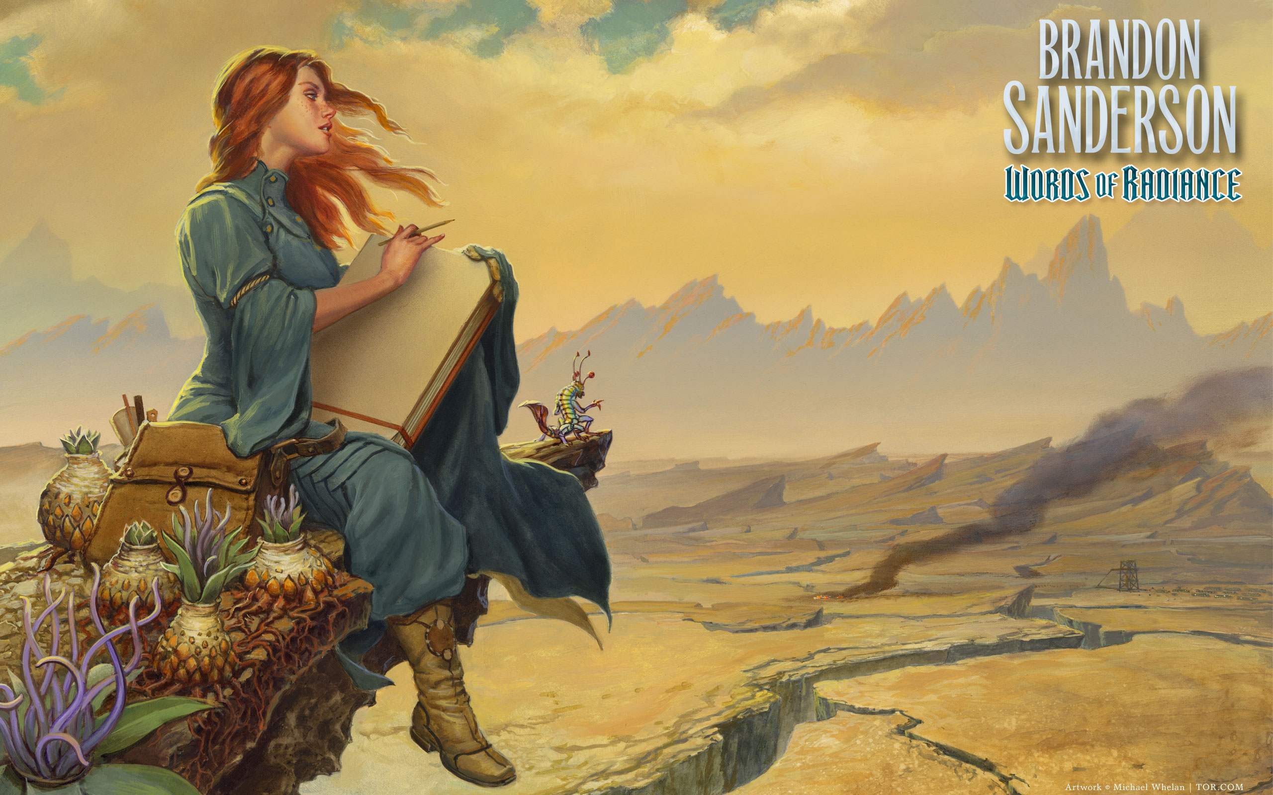 Words of Radiance book endpaper art wallpaper by ArcangHell