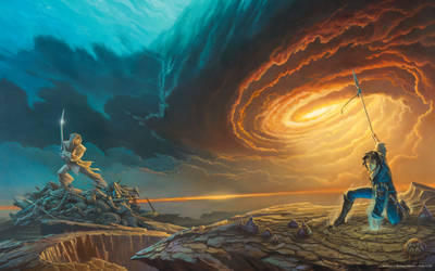 'Words of Radiance' book cover art (revised)