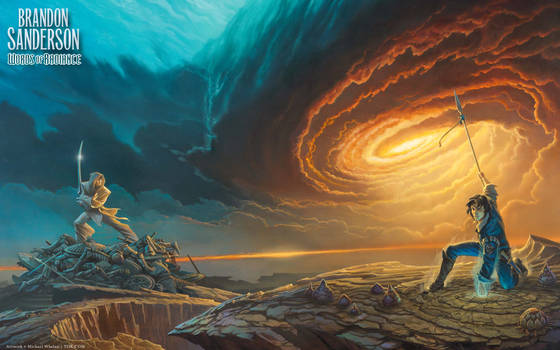 'Words of Radiance' cover art wallpaper (revised)