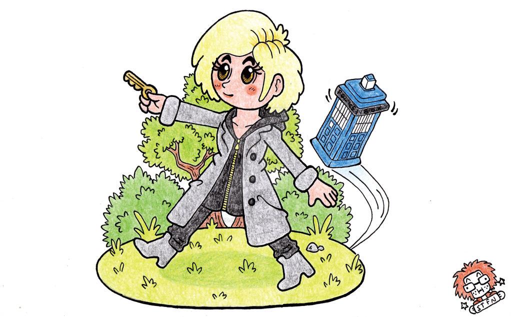 13th Doctor by WideoJoker973