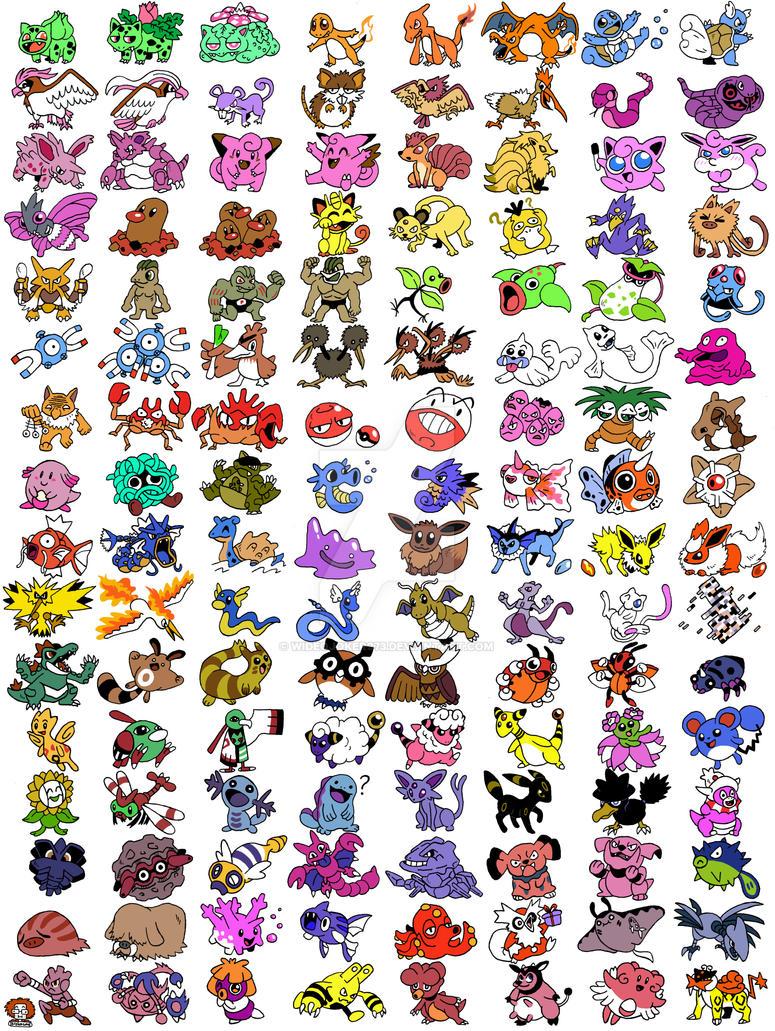 Pokemon 251 part1 by WideoJoker973