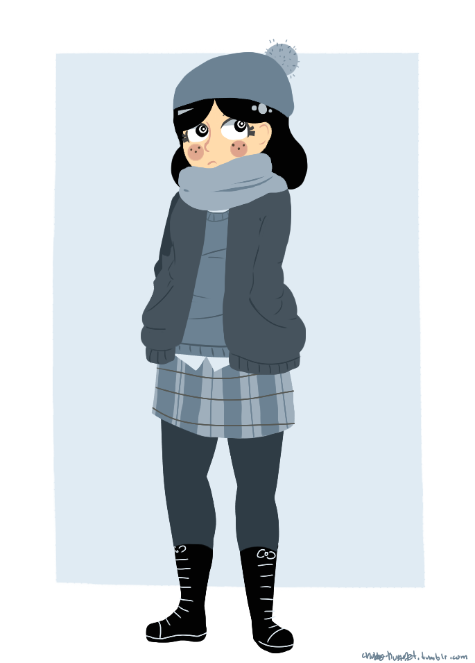 anya's winter clothes by chubbynugget