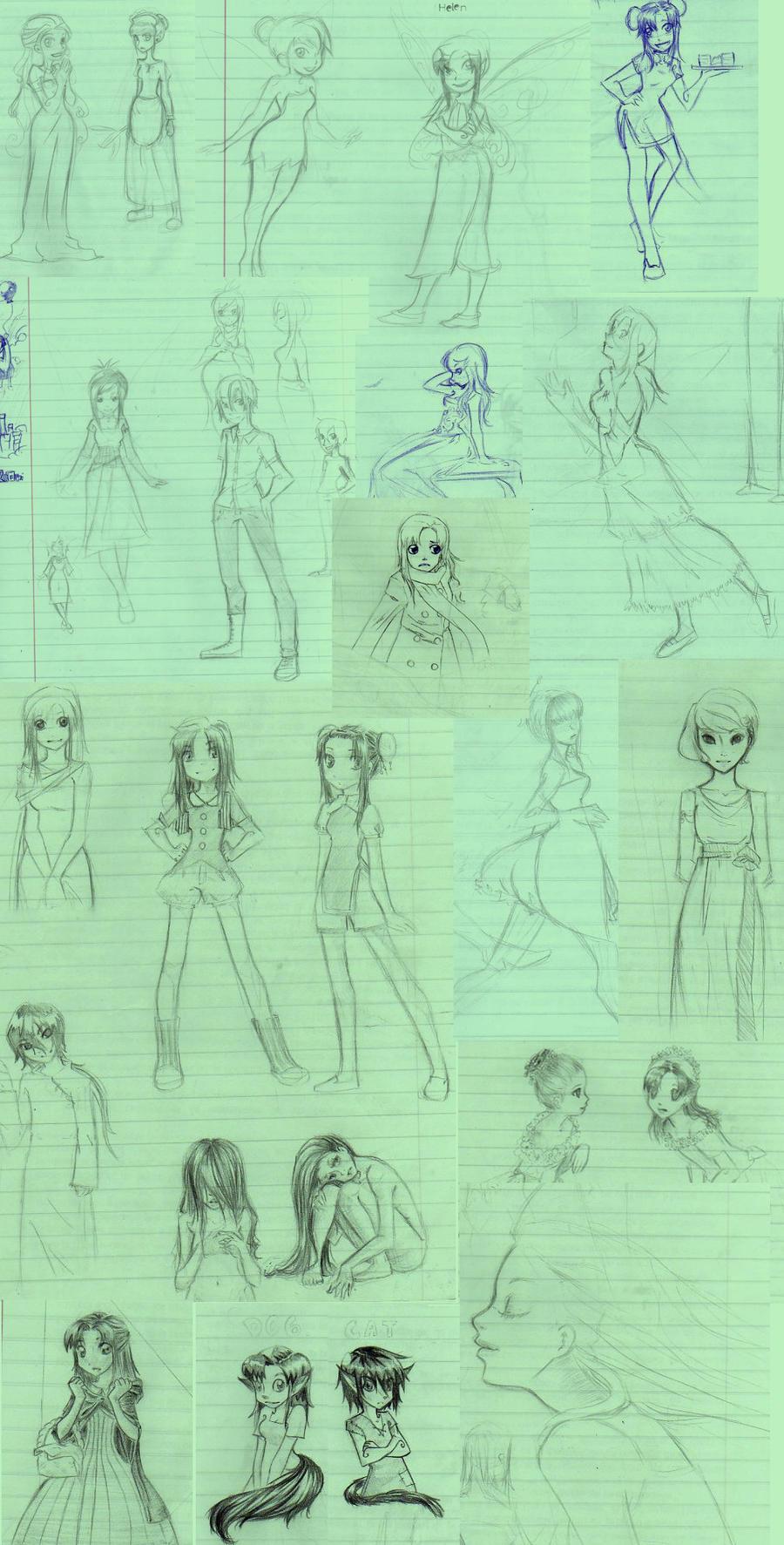 Gimena's Sketchbook