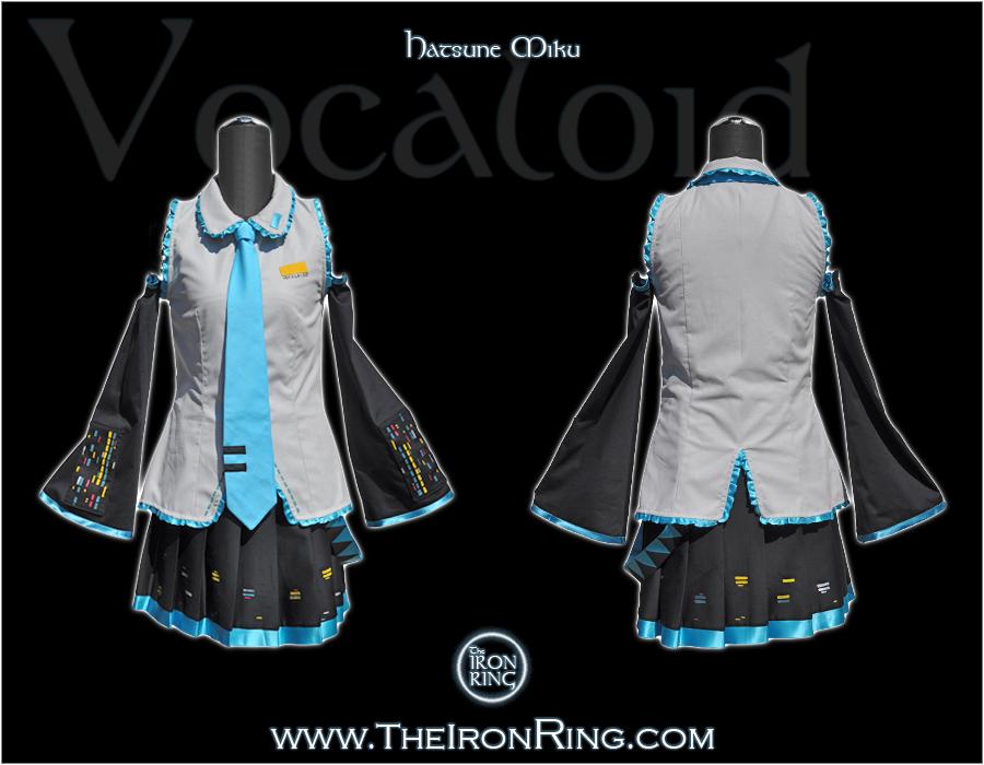 Vocaloid: Hatsune Miku by TheIronRing
