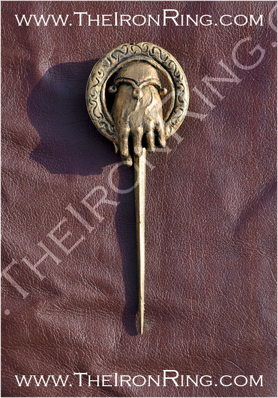 The Hand of the King brooch