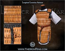 Longbard lamellar armour by TheIronRing