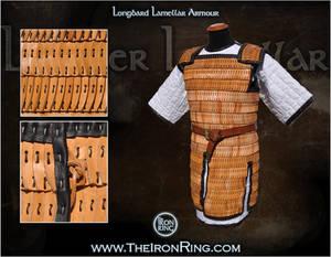 Longbard lamellar armour