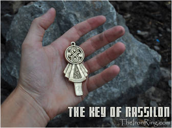 The Key of Rassilon - real brass by TheIronRing