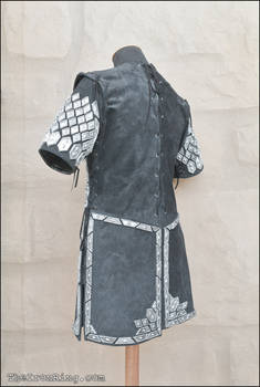 Thorin scale armour, back view