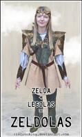 zelda + legolas... MASHUPTIME!!!!!!111