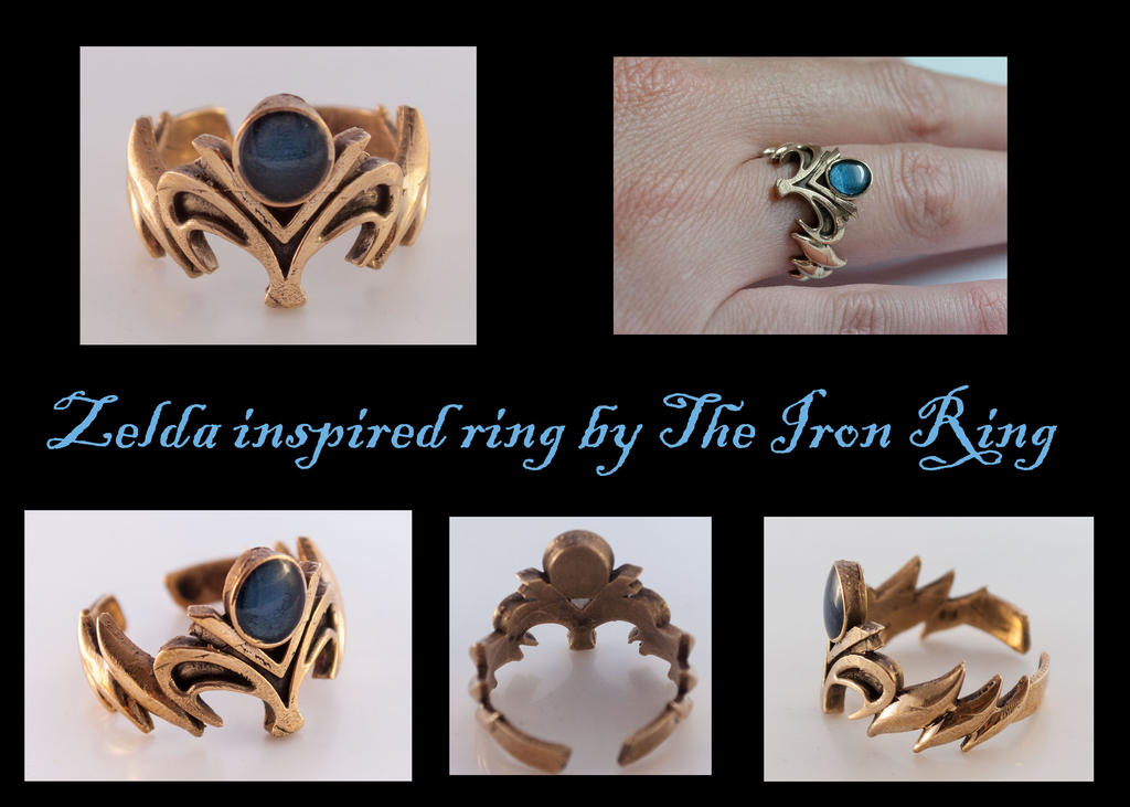 Princess Zelda Inspired Ring by TheIronRing