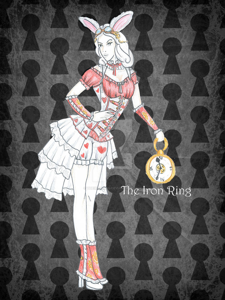 Steam White Rabbit - Queen of hearts version by TheIronRing