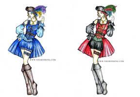 Pirate Pin-Up Girls
