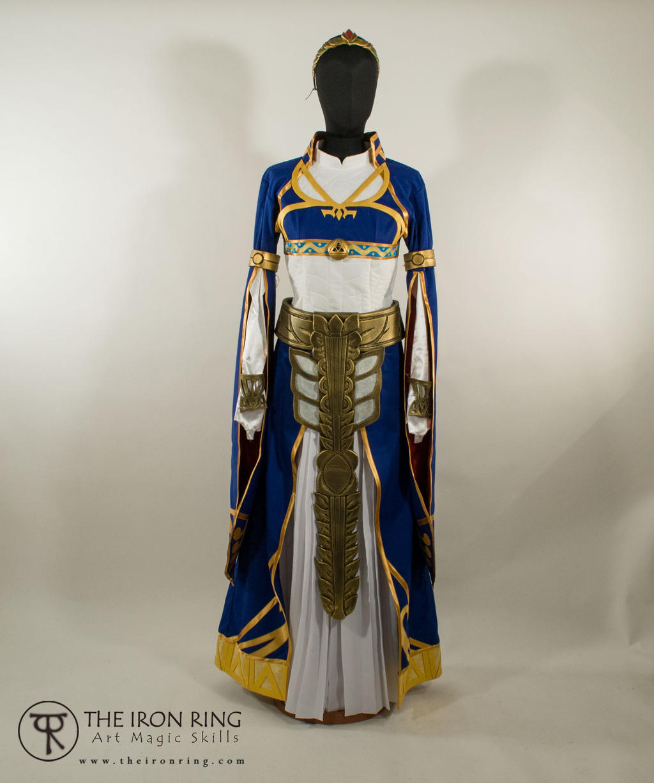 Princess Zelda Royal Dress Breath Of The Wild By