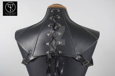 Leather Neck Corset