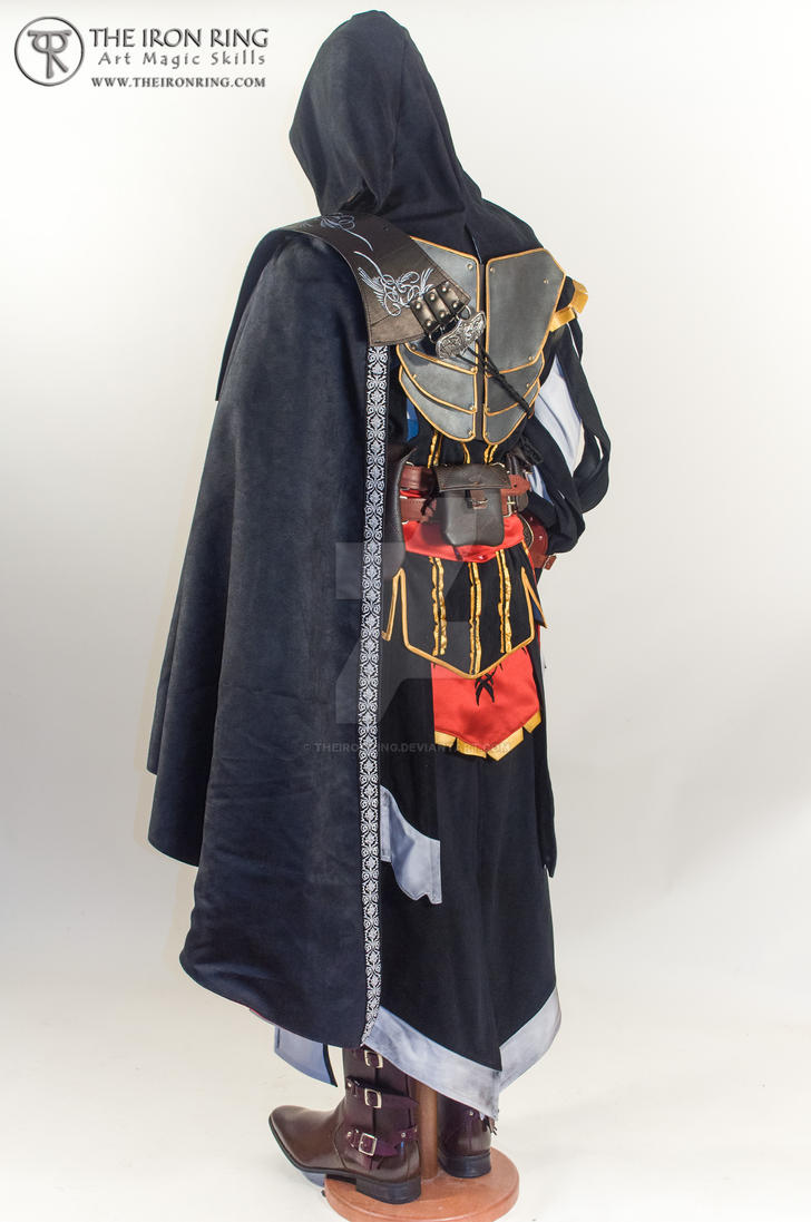Ezio Auditore back view by TheIronRing