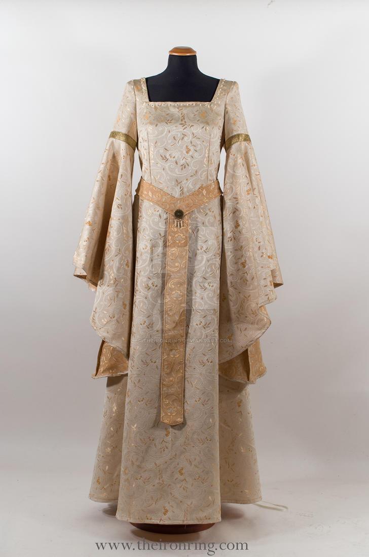 Wedding fantasy dress by TheIronRing
