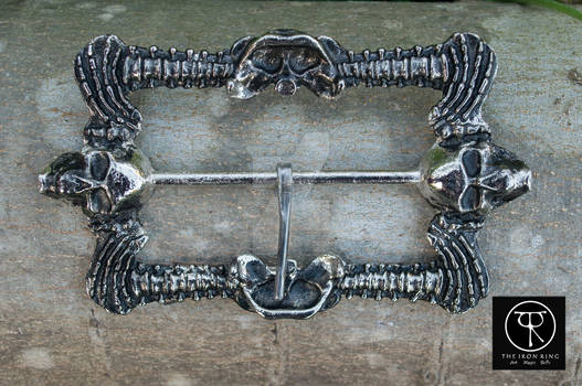 Blackbeard Baldric Buckle
