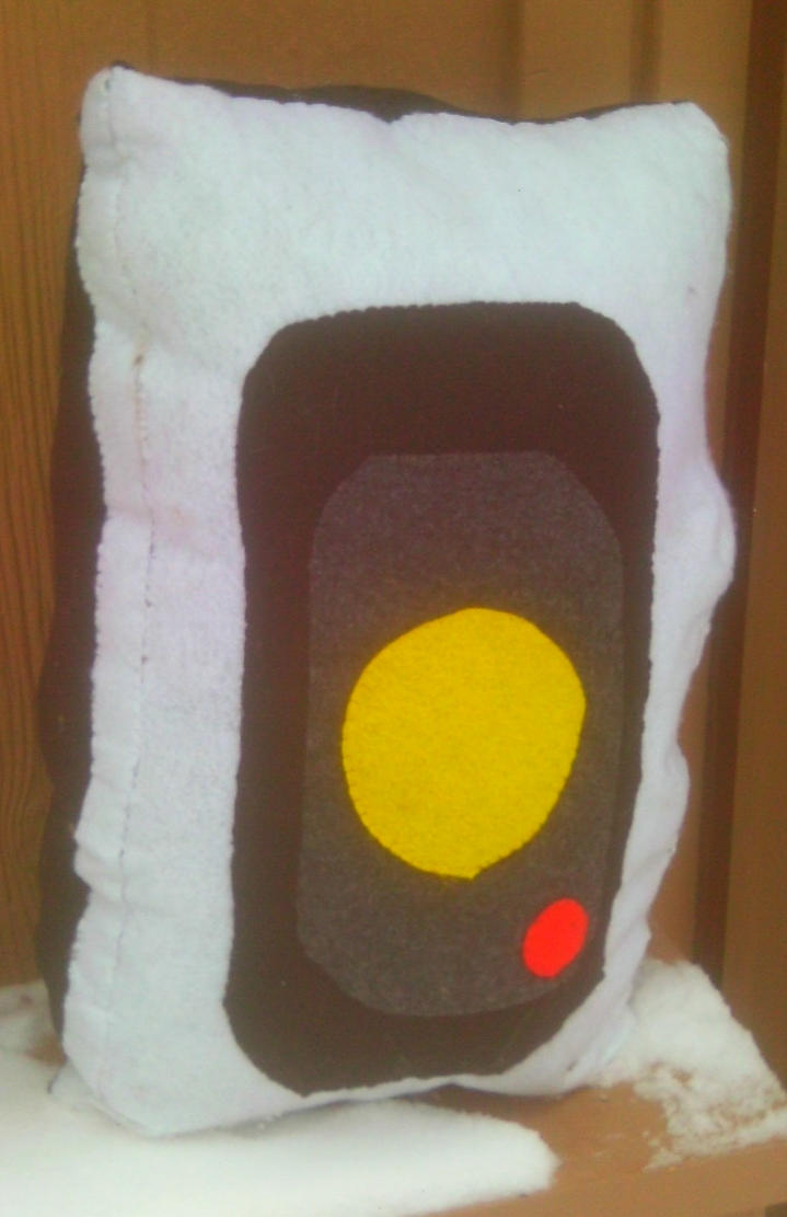 GLaDOS Pillow by TheWaffleFox