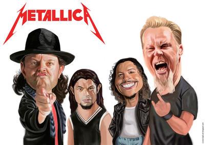 Metallica by Bjak