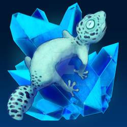 Gecko on a Crystal
