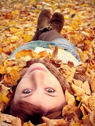 autumn,dude by ivuliena